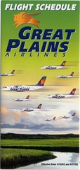 timetable: Great Plains Airlines