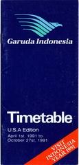 timetable: Garuda Indonesia