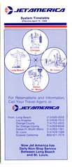 timetable: Jet America Airlines