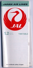 timetable: JAL (Japan Air Lines)