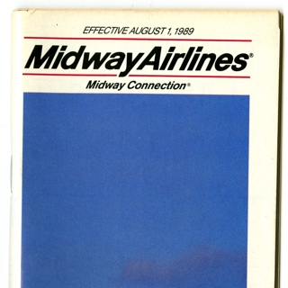 timetable: Midway Airlines