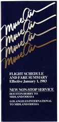 timetable: Muse Air