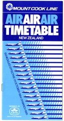 timetable: Mount Cook Line