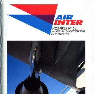 timetable: Air Inter