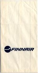airsickness bag: FinnAir