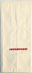 airsickness bag: Interflug