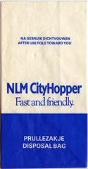 airsickness bag: NLM Cityhopper