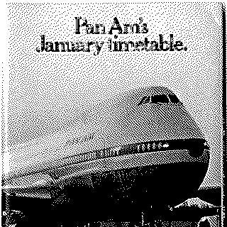 timetable: Pan American World Airways