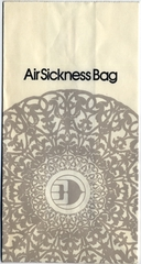 airsickness bag: Malaysia Airlines