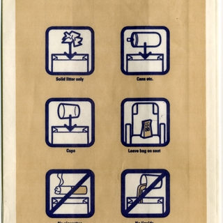 airsickness bag: South African Airways