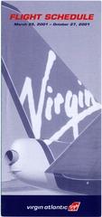 timetable: Virgin Atlantic