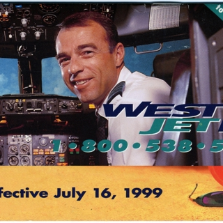 timetable: WestJet Airlines, summer schedule