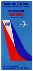 timetable: Philippine Air Lines