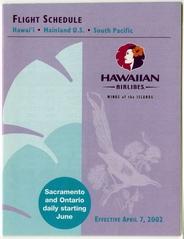 timetable: Hawaiian Airlines