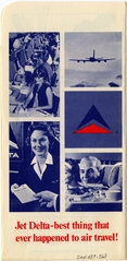 ticket jacket: Delta Air Lines