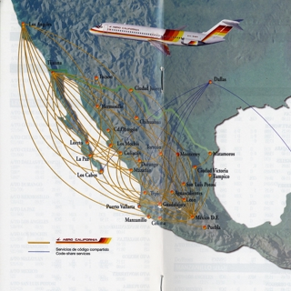 timetable: Aero California