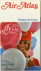 route map: United Air Lines, system map