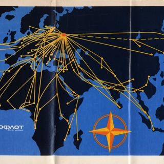timetable: Aeroflot Soviet Airlines