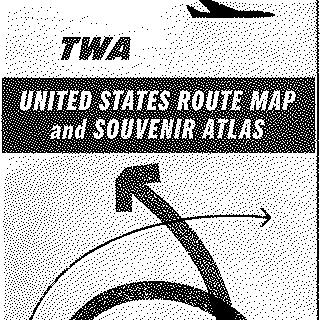route map: TWA (Trans World Airlines)