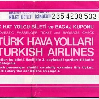 ticket: Turkish Airlines