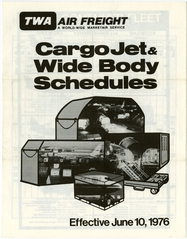 timetable: TWA (Trans World Airlines), cargo