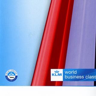 menu: KLM (Royal Dutch Airlines), Business Class