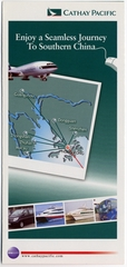 brochure: Cathay Pacific Airways, southern China