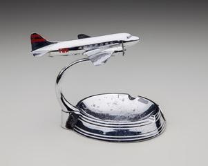 ashtray: Transcontinental & Western Air (TWA), Douglas DC-3