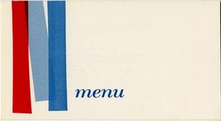 menu: United Air Lines