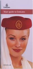 brochure: Emirates Airline, general service