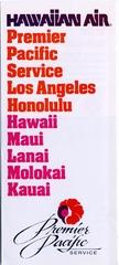 brochure: Hawaiian Airlines