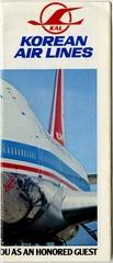 timetable: Korean Air Lines