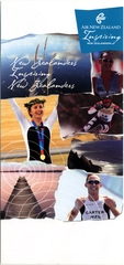 brochure: Air New Zealand, Olympic Games