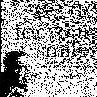 brochure: Austrian Airlines, general service