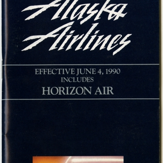 timetable: Alaska Airlines, including Horizon Air