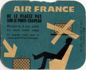 luggage card: Air France