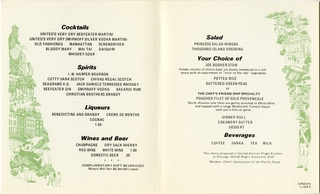 menu: United Airlines