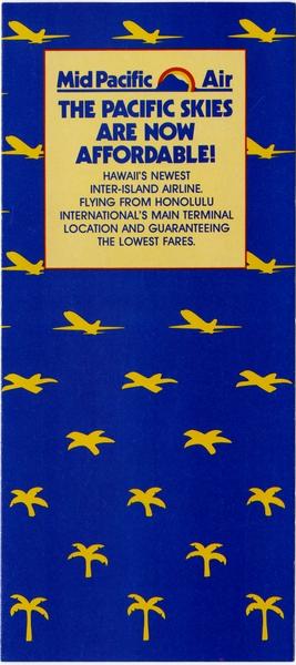 brochure: Mid Pacific Air, Hawaii