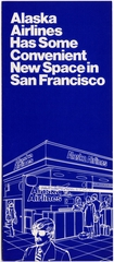 brochure: Alaska Airlines, San Francisco International Airport (SFO)