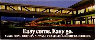 brochure: United Airlines, San Francisco International Airport (SFO)