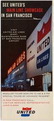 brochure: United Air Lines, San Francisco International Airport (SFO)