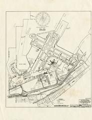 architectural drawing: San Francisco International Airport (SFO), airport plan [photocopy]