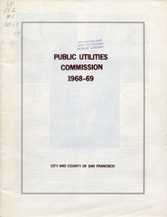 annual report: San Francisco Public Utilities Commission, 1968/1969 [1 issue: 1968/1969]