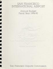 annual report: San Francisco International Airport (SFO), 1994/1995 [1 issue: 1994/1995]