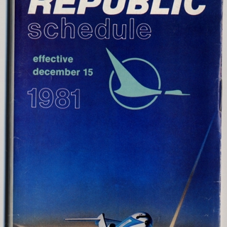 timetable: Republic Airlines