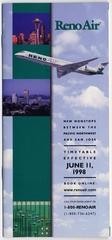 timetable: Reno Air