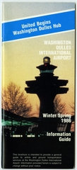 timetable: Washington Dulles International Airport, winter and spring schedule