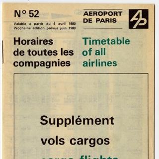 timetable: Aeroport de Paris (Charles de Gaulle, Le Bourget, Orly)