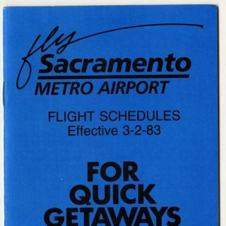 timetable: Sacramento Metro Airport