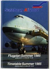 timetable: Salzburg Airport